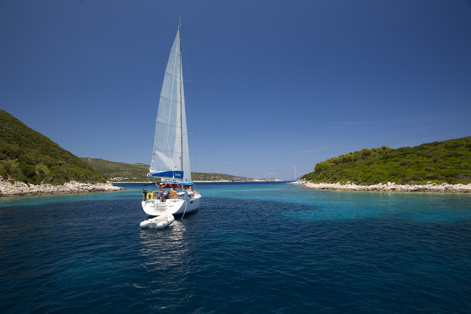 Sailing adventure in Kefalonia