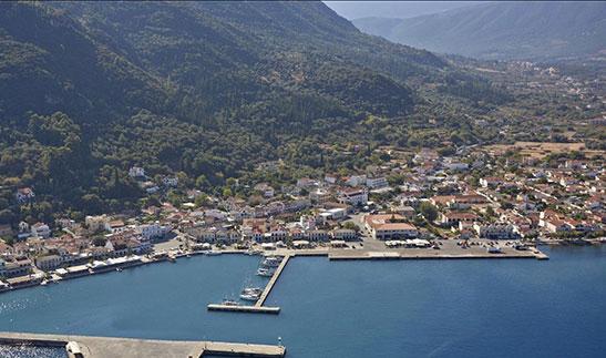 Sami port kefalonia