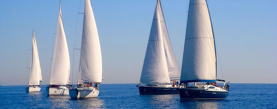 Sailing in Kefalonia